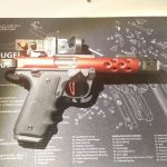 Ruger Mark IV 22/45 Left Hand Thumbrest