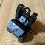 Striplin Custom Fiber Optic Flip-Up Sights